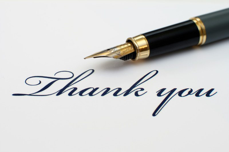 Thank-you note etiquette DJ Delights