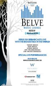 Belve Music Lounge Sirius XM W Hotel Miami WMC 2011