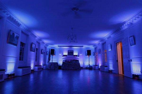 Maskell's uplighting showcased on Chauvet Lighting blog