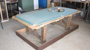 pool table without rails