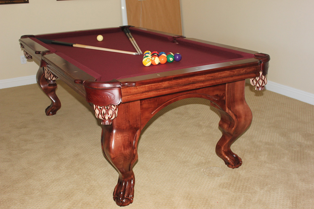 There S So Much More Than Green Dk Billiards Pool Table