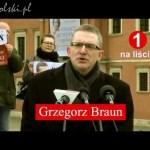 Grzegorz Braun 2015 – spot