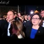 Prezydent-elekt Andrzej Duda śpiewa patriotyczne piosenki