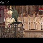 Msza św. w 35. rocznicę zakończenia strajku w Stoczni Gdańskiej i podpisania Umów Sierpniowych