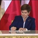 Zaprzysiężenie rządu w Pałacu Prezydenckim 2015