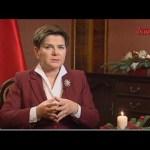 Wywiad z premier Beatą Szydło w TV Trwam