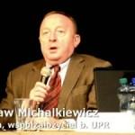 S. Michalkiewicz (red.) vs J. Sobczak (PO) vs G. Kurczuk (SLD) vs M. Kowalski (NRP)
