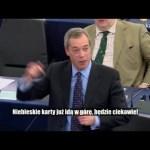 Nigel Farage: Zamiast zmiany traktatu, list od Tuska