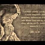 Duchowe zmagania i krwawy pot Jezusa