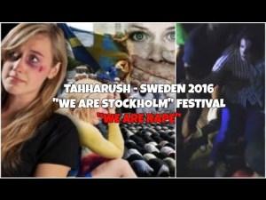 """50 ataków na młode dziewczęta na festiwalu """"WE ARE STOCKHOLM"""". Odpowiedzialni Imigranci!"""