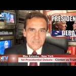 Clinton vs Trump Debate – Wybory w USA – debata #1