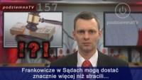 Sądy o Frankowiczach i bankowym bezprawiu