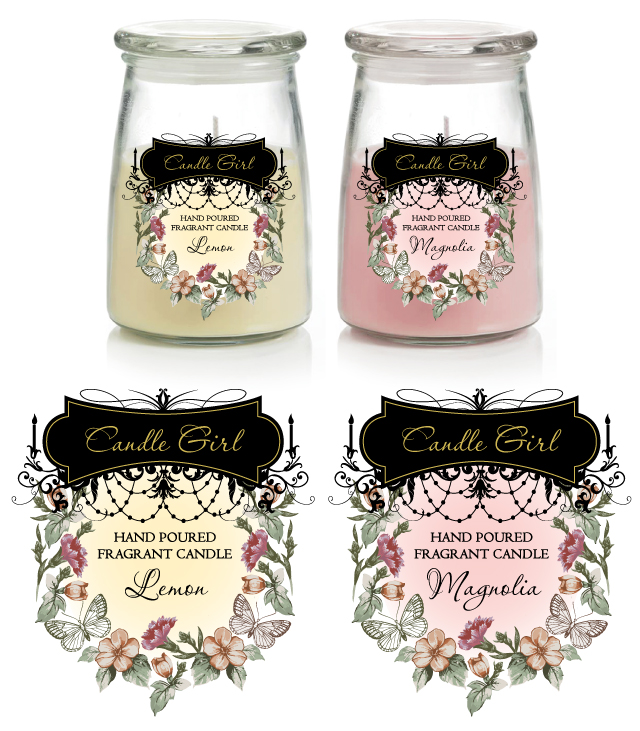 Candle Labels Template - dLayouts Graphic Design Blog