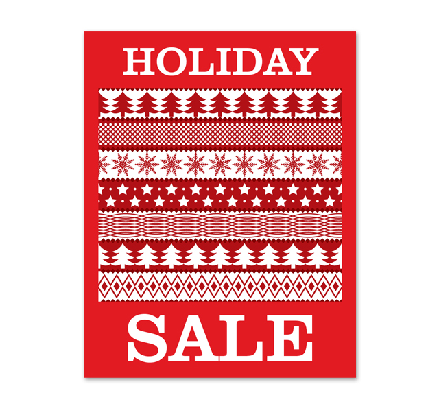 Holiday Sale Poster Template - for sale poster template
