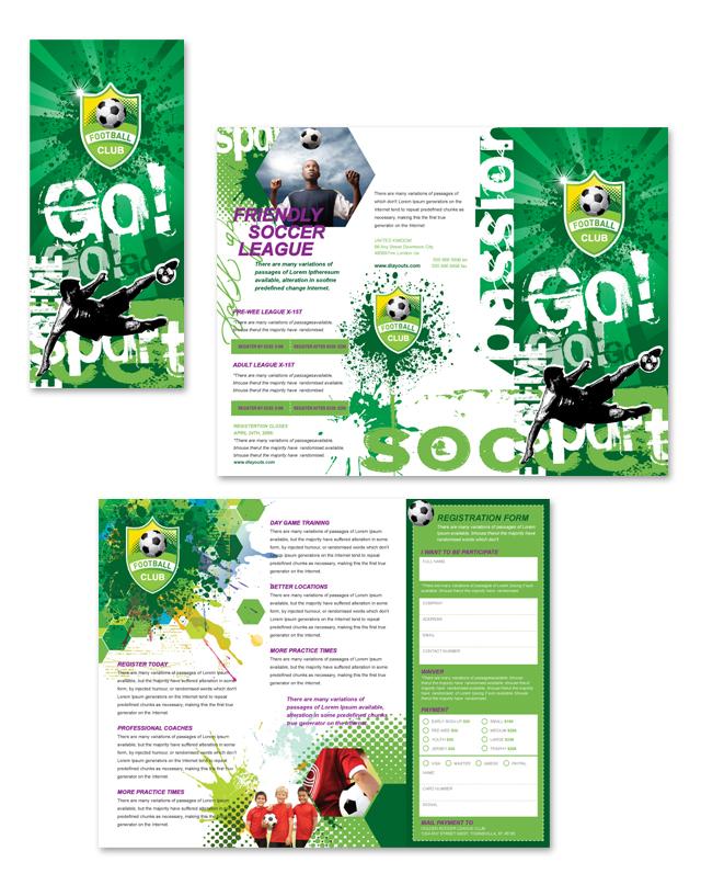 soccer team brochure template - Onwebioinnovate - soccer flyer template