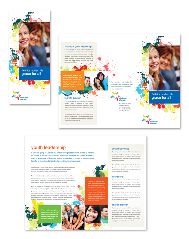 Pediatrician \ Child Care - Newsletter Template; preview of each - free letterhead samples
