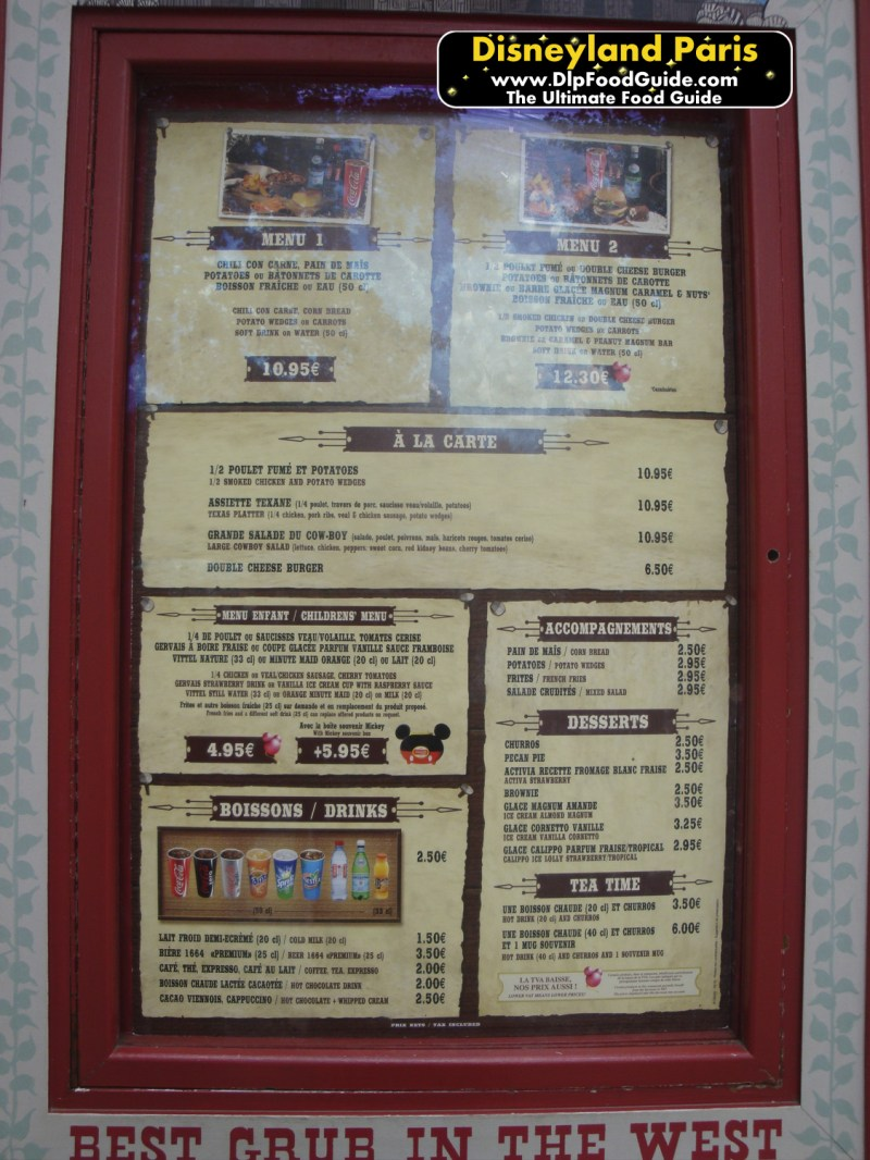 Large Of Cook Out Menu