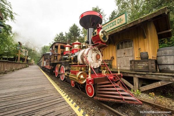 Disneyland Railroad Frontierland Depot at Disneyland Paris