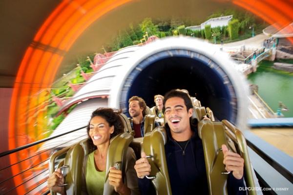Space Mountain in Discoveryland at Disneyland Paris