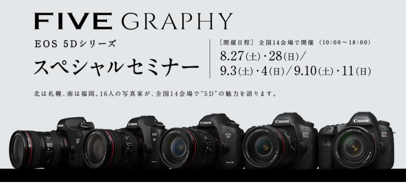 Canon 5D FIVEGRAPHY