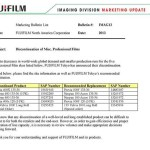 Fujiflm Neopan 400 B&W and Provia 400X slide films discontinued | Photo Rumors