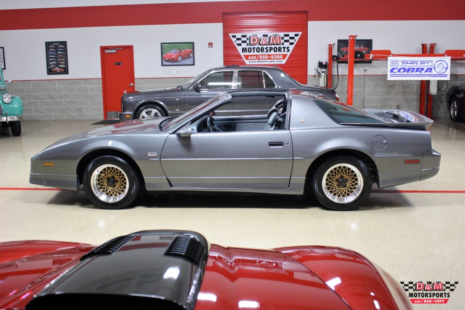 1989 Pontiac Firebird Trans Am GTA Stock # M5756 for sale near Glen