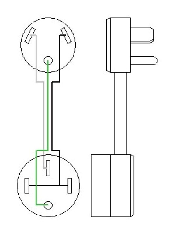 50 amp to 30 adapter wiring diagram