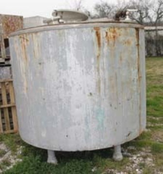 850 GALLON STAINLESS STEEL STORAGE TANK | For Sale | LabX Ad 29770464
