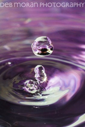 Water Drop With Purple #2