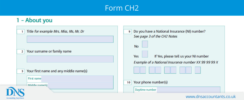 Download Form CH2 DNS Accountants