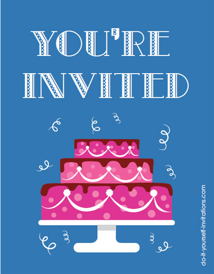 Printable Postcard Invitations Make Your Own Postcard Party Invitations