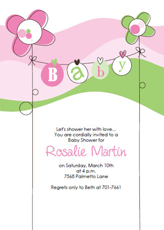 Free Baby Shower Invitation Templates - free baby shower invitations templates printables
