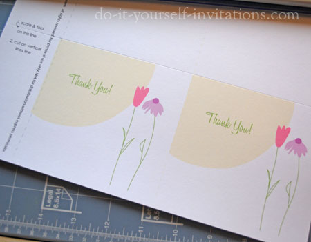 Free Printable Thank You Cards - make your own thank you cards