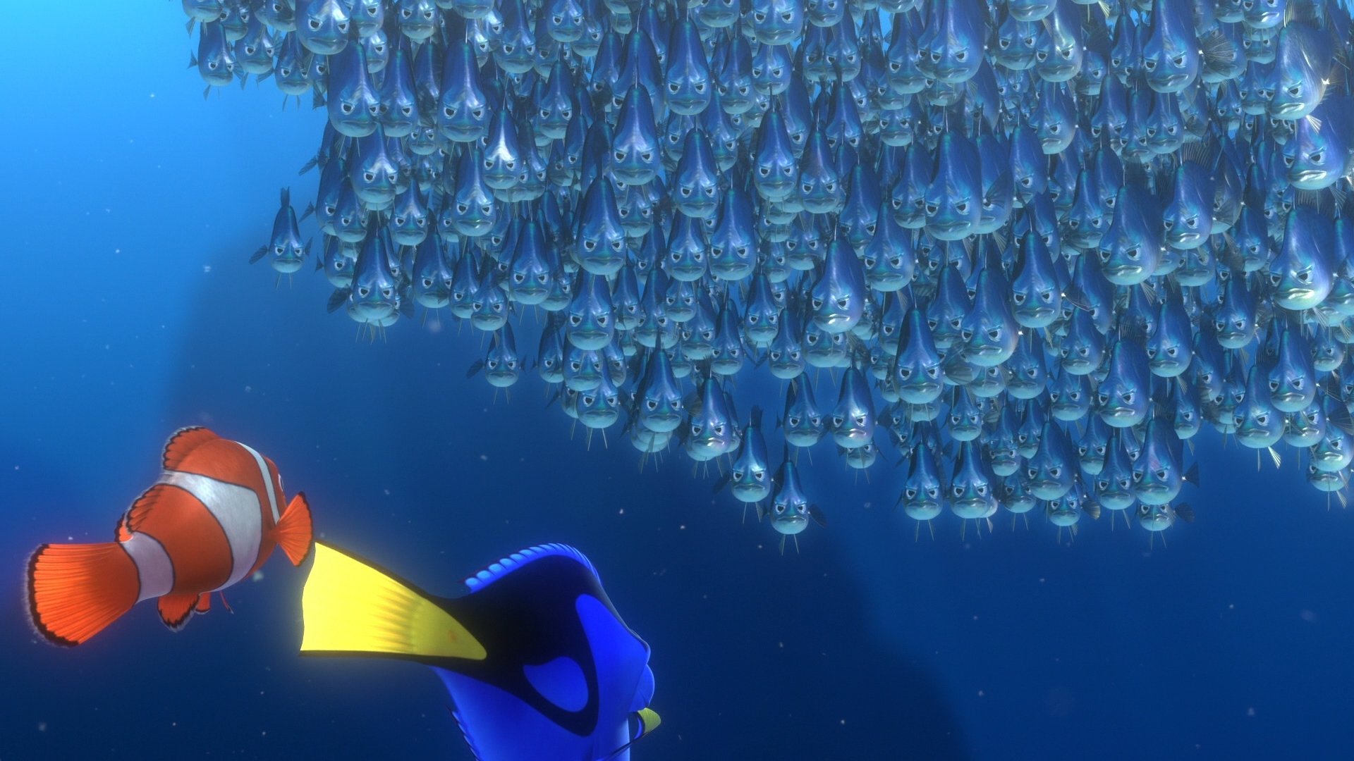 Finding nemo 3d review for Bubbles fish finding nemo