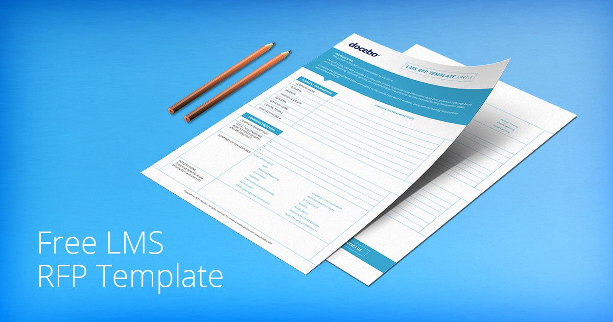 Free RFP Template for Faster  Easier LMS Selection