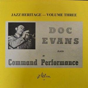 Doc Evans Jazz Heritage 3
