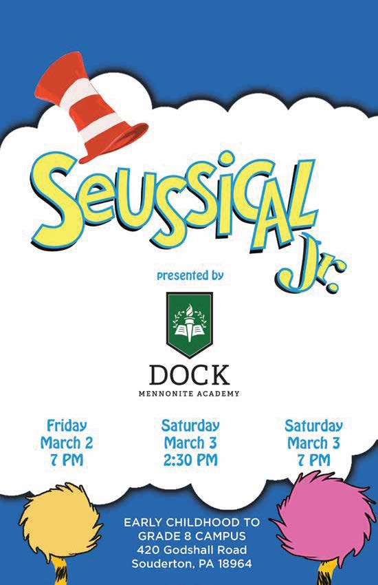 Seussical the Musical - DOCK MENNONITE ACADEMY