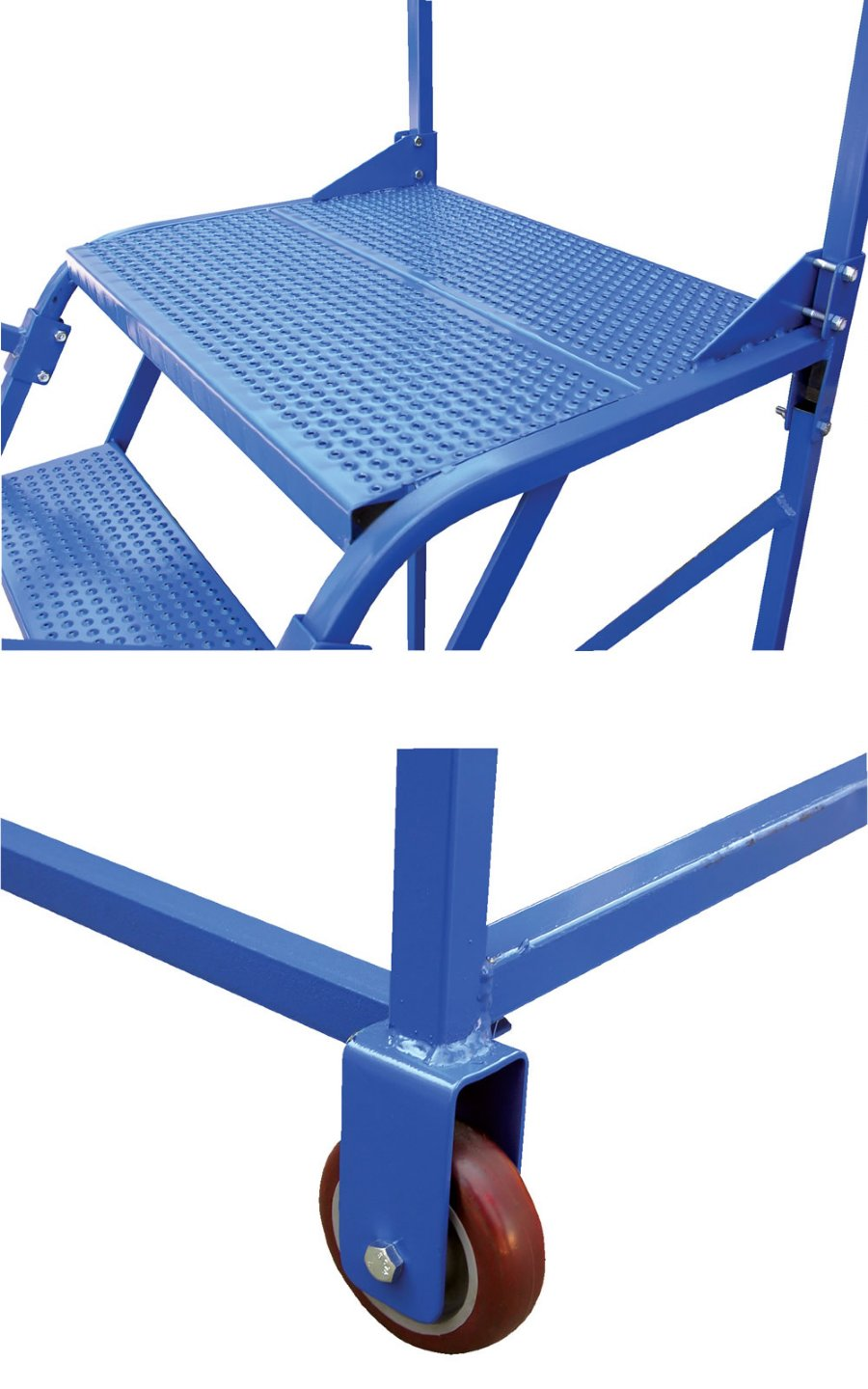 6 Step Portable Maintenance Ladders With Perforated Steps