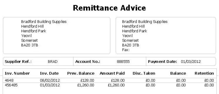 Payment Advice Slip remittance advice payments youtube 80
