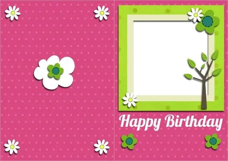 Top 5 Free Birthday Card Templates - Word Templates, Excel Templates - free birthday card template word
