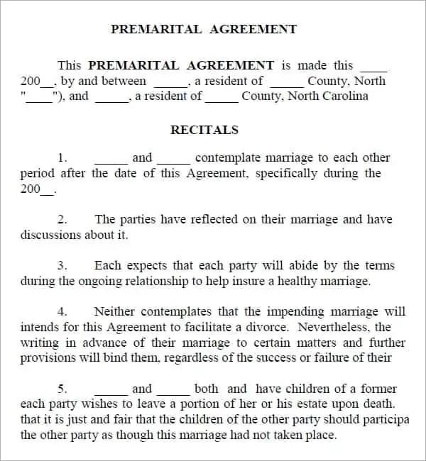 Rental Agreements Virginia Free Best Resumes Curiculum Vitae And - sample prenuptial agreement template