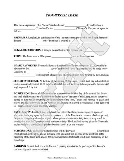 Commercial Sublease Agreement Template US LawDepot - visualbrainsinfo