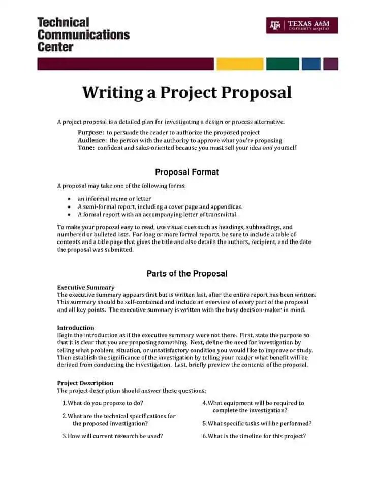 It Proposal Template Business Proposal Letter Template It Proposal - It Services Proposal Template