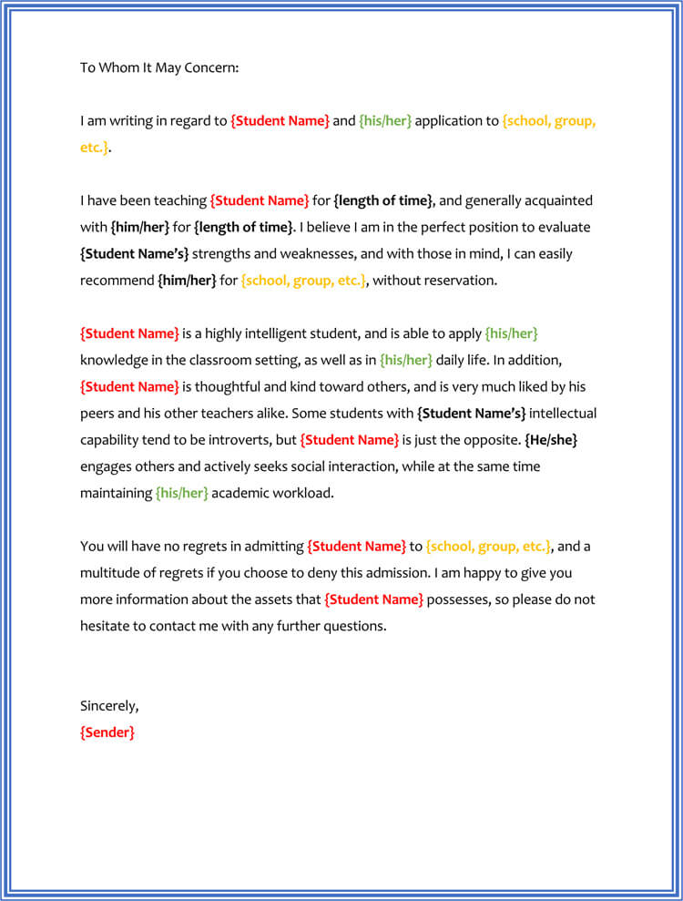 17+ Sample Character Reference Letter (for Court, Judge, Friend, Job)
