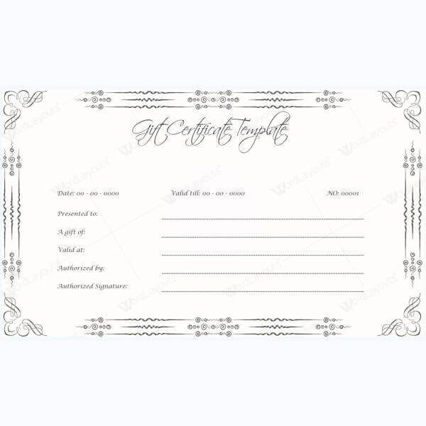 Create Free Certificates - Gift, Award, Marriage Certificate Templates - certificates templates