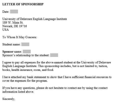Sponsorship Letter Samples - Write Best Sponsorship Letters