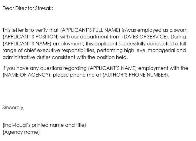 Proof of Employment Letter 15+ Best Sample  Templates to Choose From - proof of employment template
