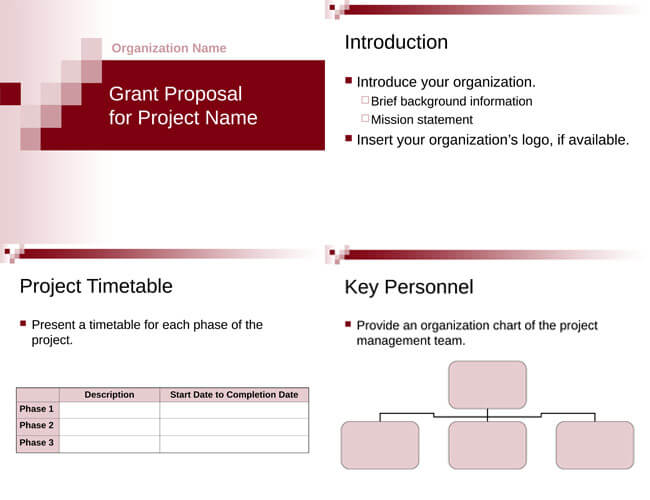 6 Free Grant Proposal Templates for Word and PDF - Non Profit Proposal Template