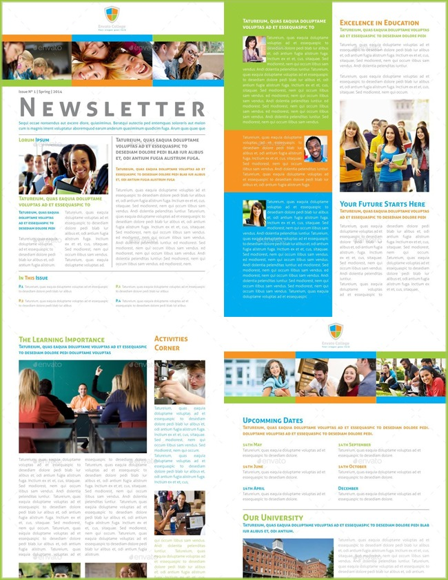 10+ Classroom Newsletter Templates - Free and Printable Designs
