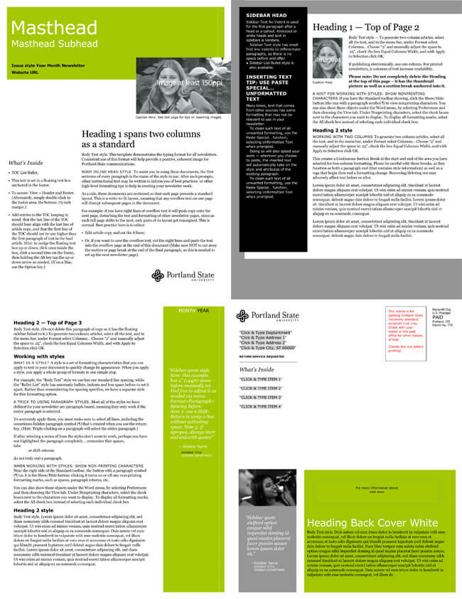 Free Email Newsletter Templates to Create E-Newsletters for Any Busines